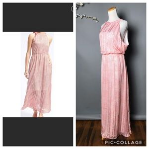 Banana Republic #308 Geo Tie Maxi Dress
